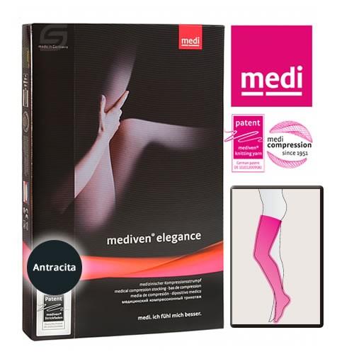 Mediven Elegance A-G Media Hasta Muslo ccl 2 t 4 regular anthrazita