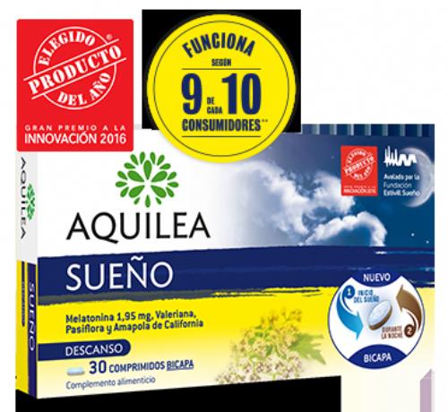 Aquilea sueño (1.95 mg 30 comprimidos) | Parafarmacia Melguizo