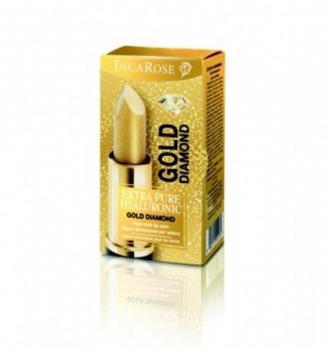 Incarose Gold Diamond Lápiz Labial Hialurónico