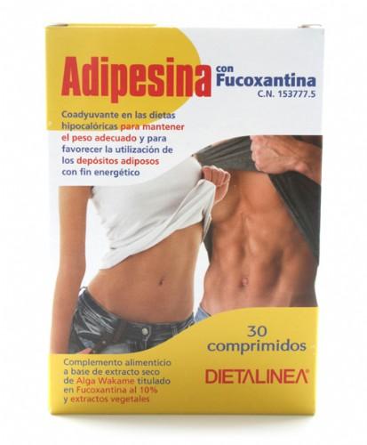 Adipesina con fucoxantina (30 comp) | Parafarmacia Melguizo