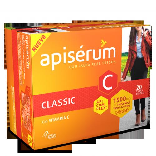 APISERUM CLASSIC VIAL BEBIBLE (DE 1500 MG 20 VIALES)