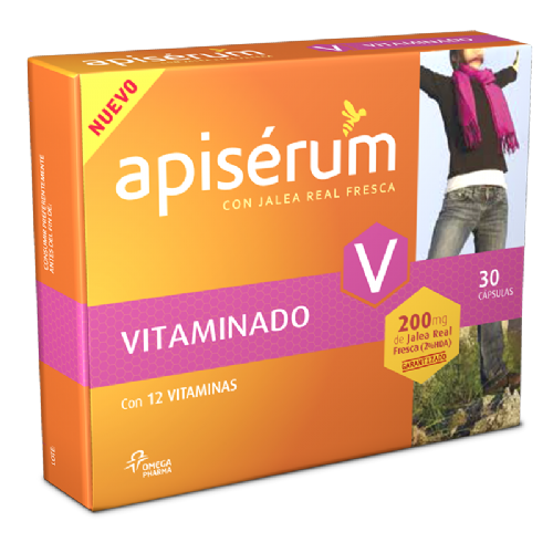 APISERUM VITAMINADO CAPSULAS (30 CAPS)