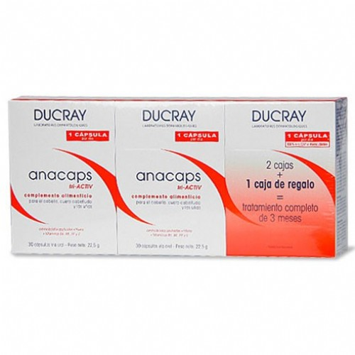 Anacaps ducray trio pack