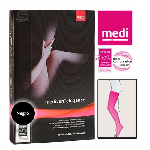 Mediven Elegance A-G Media Hasta Muslo ccl 2 t 2 regular negro