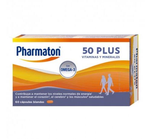 Pharmaton 50 plus (60 capsulas)
