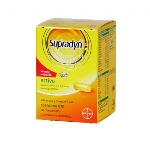 Supradyn activo (30 comp) | Parafarmacia Melguizo
