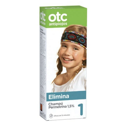 Otc antipiojos permetrina 1,5% champu (125 ml)   FarmaMelg