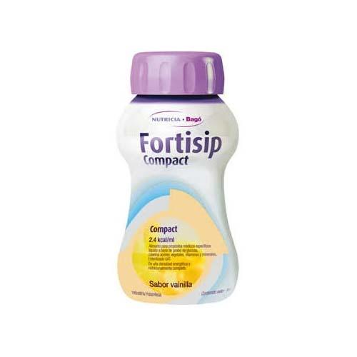 Fortisip compact (125 ml 24 botellas vainilla)