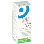 HYABAK 0.15% - SOLUCION HIDRATANTE LENTES DE CONTACTO (10 ML)