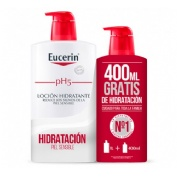 Eucerin locion pack  1l + 400 ml regalo