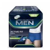 Absorb inc orina dia anat - tena men pants active fit (mediano 9 u)