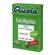Ricola caramelos sin azucar (1 envase 50 g sabor eucaliptus)