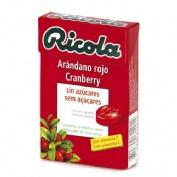 Ricola caramelos sin azucar (arandano 50 g)
