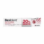 Bexident anticaries pasta dentifrica (125 ml)
