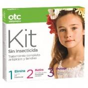 Otc antipiojos kit 1 2 3 sin insecticida | FarmaMelg