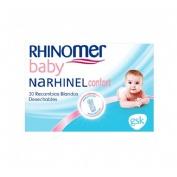 Narhinel confort aspirador recambio (20 blando desechable) | FarmaMelg