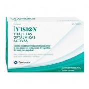 Ivision toallitas oftalmicas activas (20 toallitas)