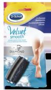 DR SCHOLL VELVET SMOOTH - LIMA ELECTRONICA DIAMOND CRYSTALS RECAMBIO DUREZAS PERSISTENTES (2 U RECAM