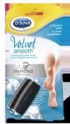 DR SCHOLL VELVET SMOOTH - LIMA ELECTRONICA DIAMOND CRYSTALS RECAMBIO DUREZAS LEVES (2 U RECAMBIO)
