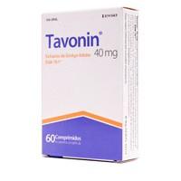 TAVONIN  40 MG COMPRIMIDOS RECUBIERTOS CON PELICULA , 60 comprimidos
