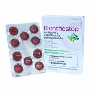 BRONCHOSTOP ANTITUSIVO Y EXPECTORANTE PASTILLAS BLANDAS, 20 pastillas