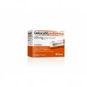 GELOCATIL PEDIATRICO 325 mg granulado , 12 sobres