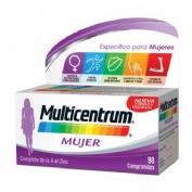 Multicentrum mujer (90 comp) | Parafarmacia Melguizo