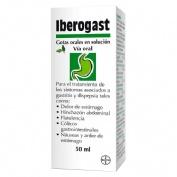 IBEROGAST GOTAS ORALES EN SOLUCION, 1 frasco de 50 ml