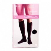 Calcetin - farmalastic (negro t- gde)